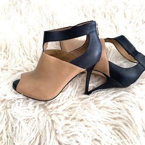 NWOT Ann Taylor open toe heels size 6.5